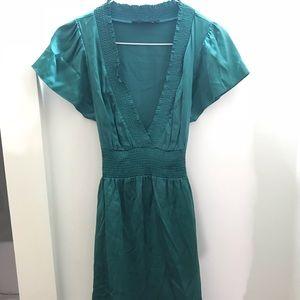BCBGMaxAzria Emerald Green Cocktail Dress